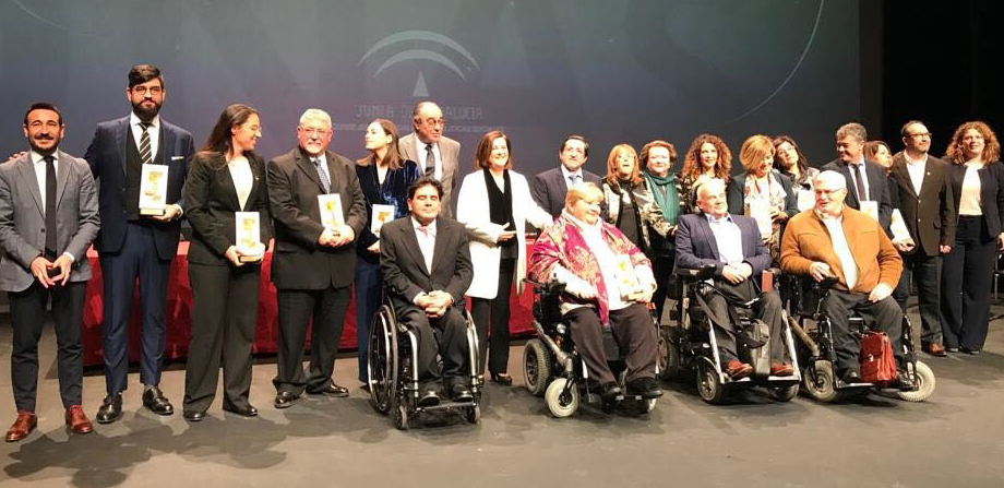 La Junta de Andalucía premia a ASPAYM y CODISA-PREDIF